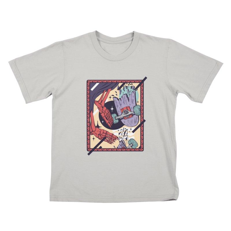 skate till break Kids T-shirt by Mico Jones Artist Shop