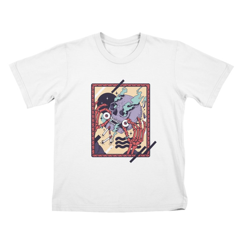 skull kull Kids T-Shirt by Mico Jones Artist Shop
