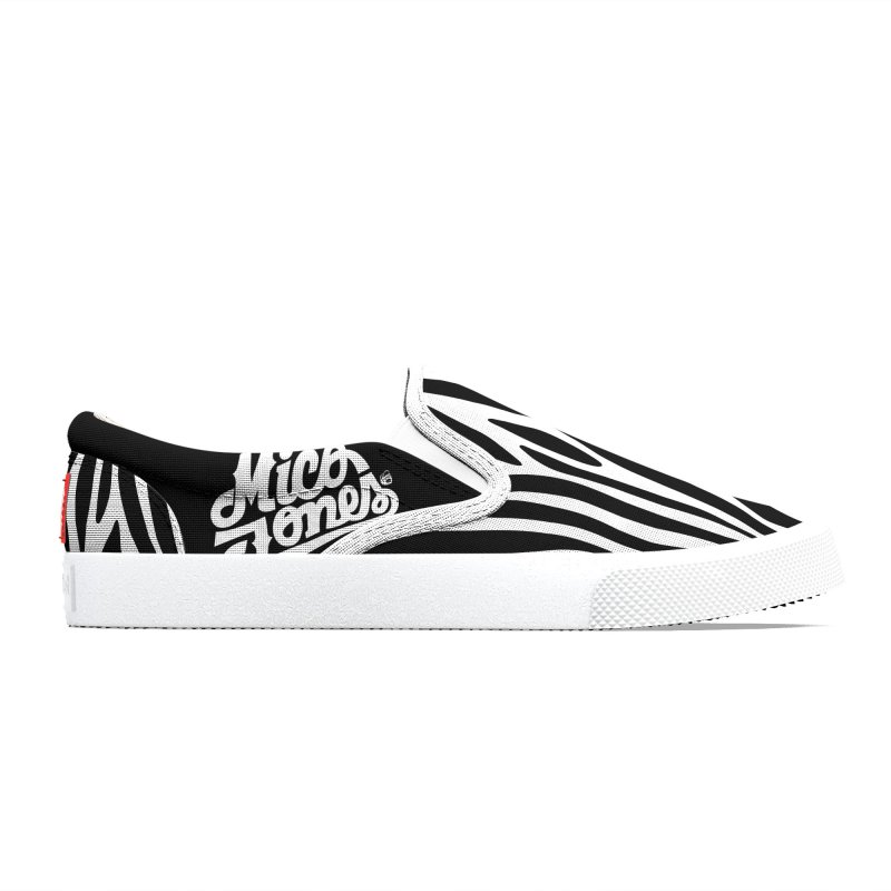 zebra Women's Shoes by Mico Jones Artist Shop