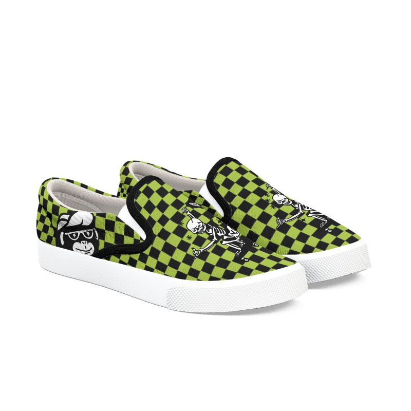 DOPE SKATER Women's Slip-On Shoes by Mico Jones Artist Shop