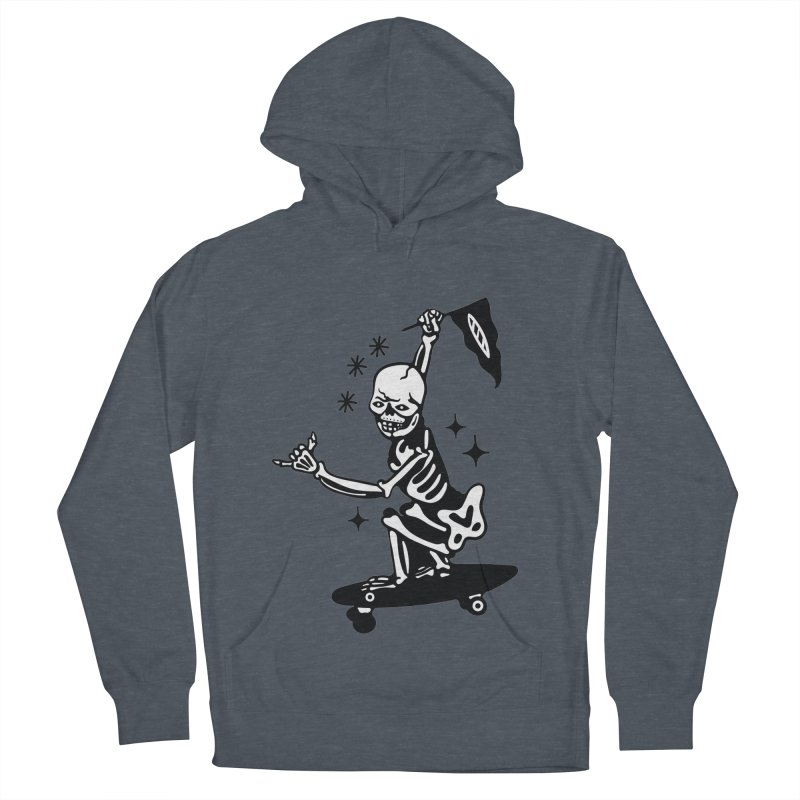 DOPE SKATER Men's French Terry Pullover Hoody by Mico Jones Artist Shop