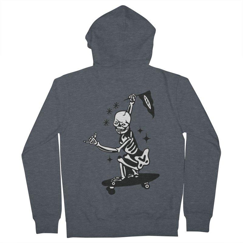 DOPE SKATER Men's Zip-Up Hoody by Mico Jones Artist Shop