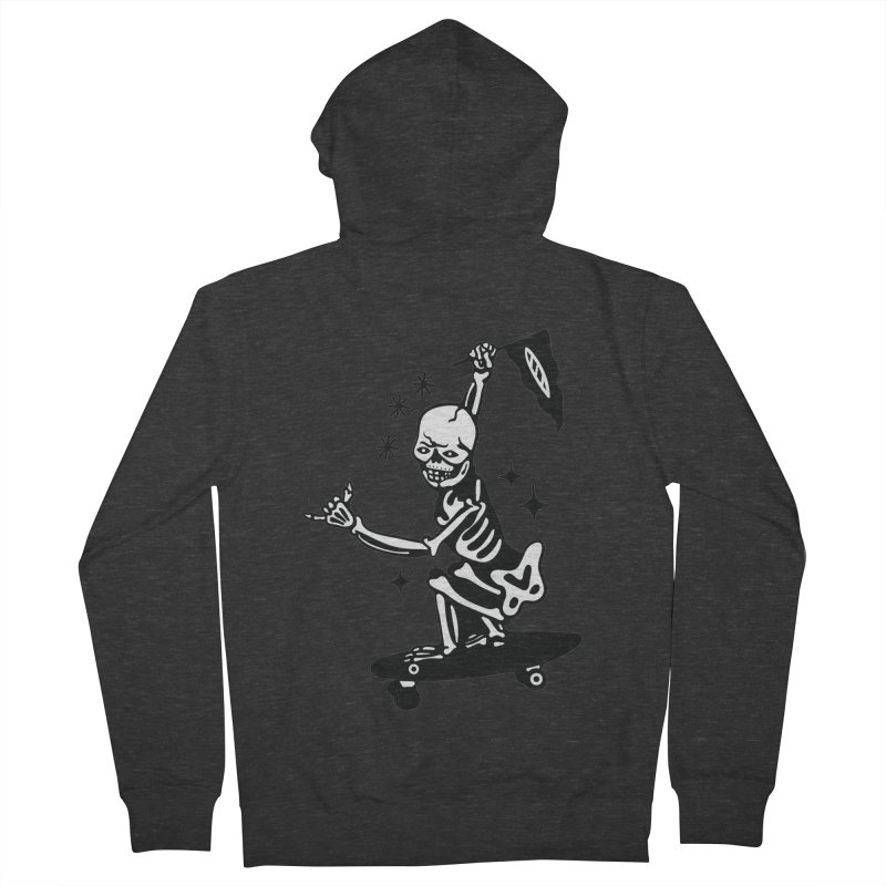 DOPE SKATER Men's French Terry Zip-Up Hoody by Mico Jones Artist Shop