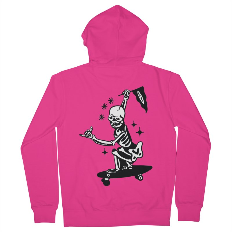 DOPE SKATER Men's Zip-Up Hoody by Mico Jones Artist Shop