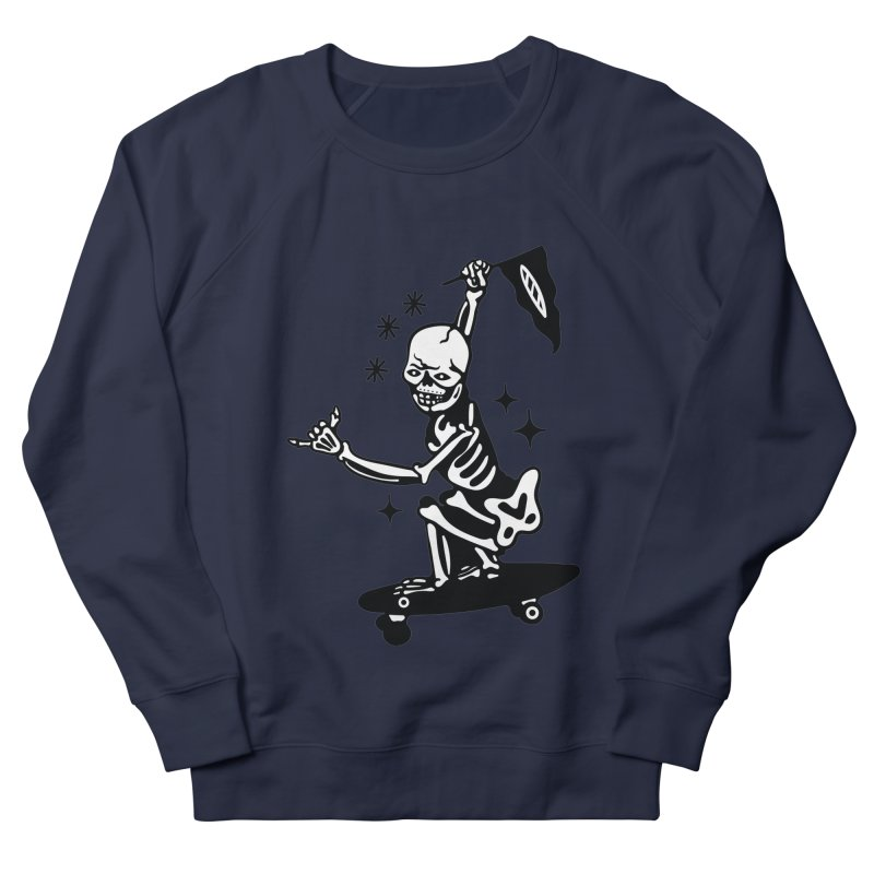 DOPE SKATER Men's French Terry Sweatshirt by Mico Jones Artist Shop