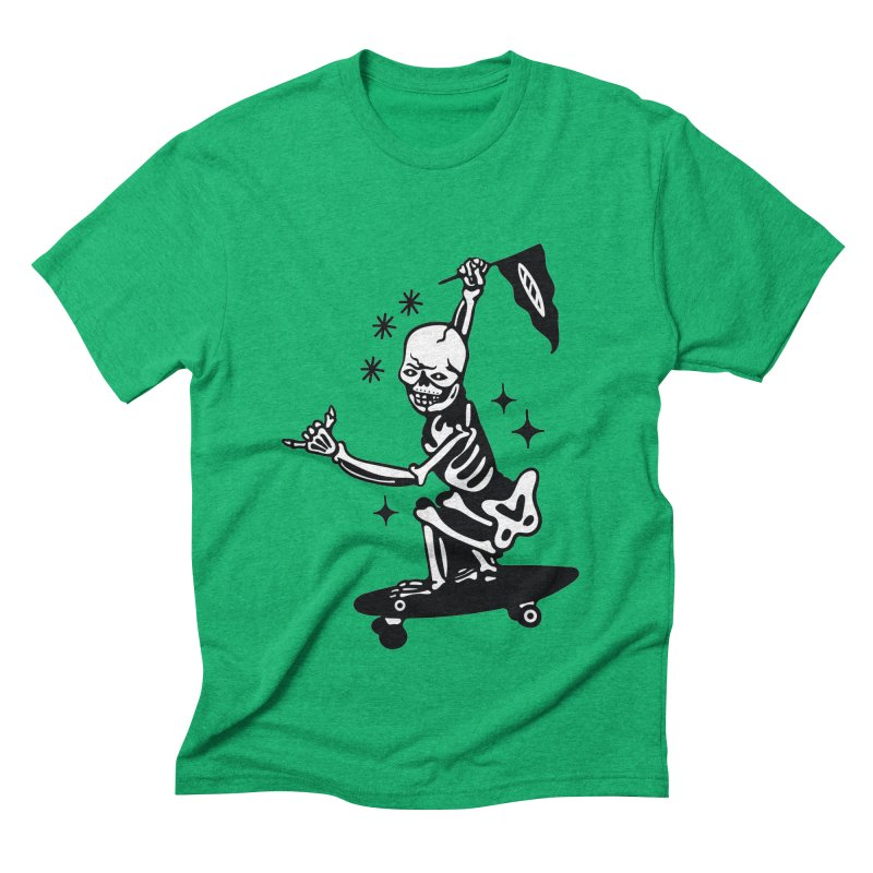 DOPE SKATER Men's T-Shirt by Mico Jones Artist Shop