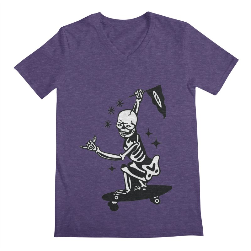 DOPE SKATER Men's V-Neck by Mico Jones Artist Shop