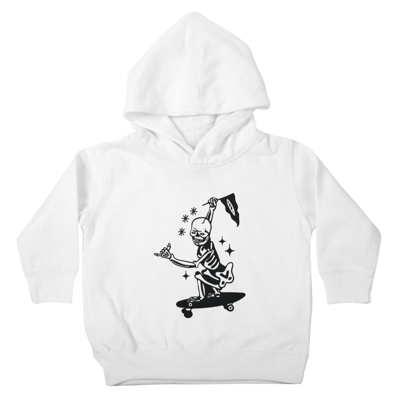 DOPE SKATER Kids Toddler Pullover Hoody by Mico Jones Artist Shop