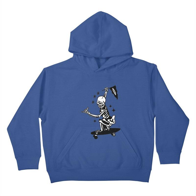 DOPE SKATER Kids Pullover Hoody by Mico Jones Artist Shop