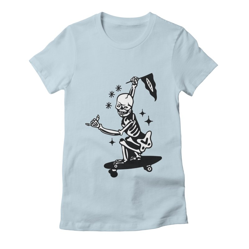 DOPE SKATER Women's T-Shirt by Mico Jones Artist Shop