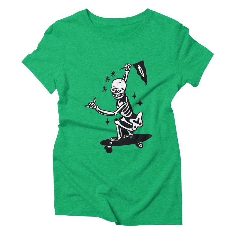 DOPE SKATER Women's Triblend T-Shirt by Mico Jones Artist Shop
