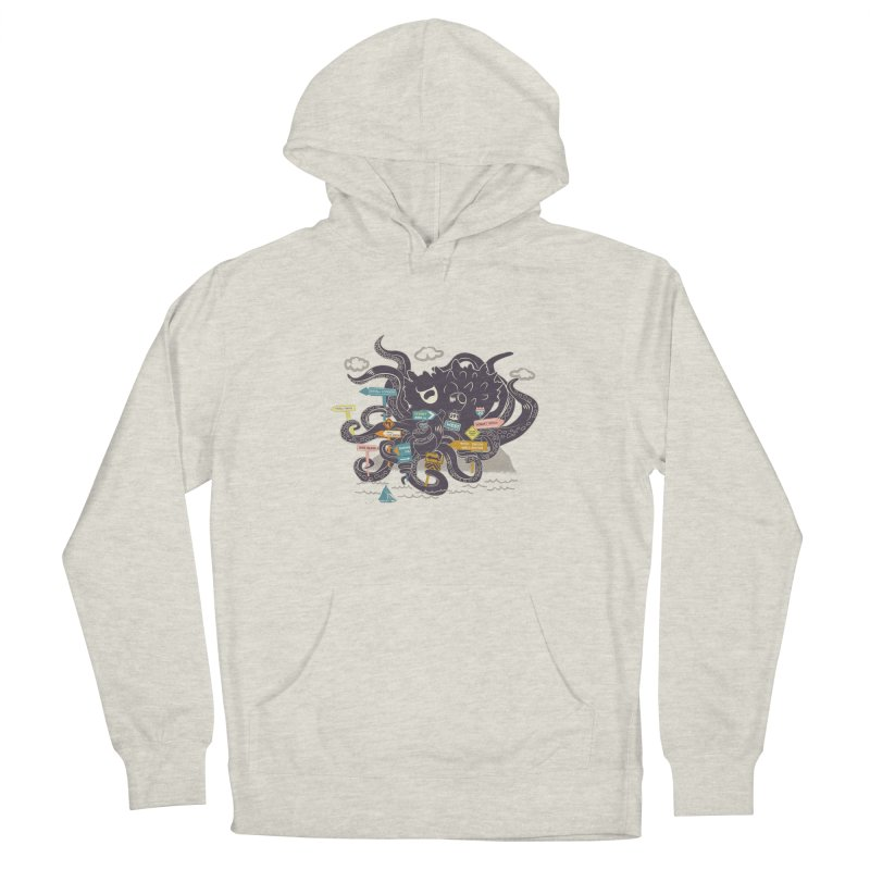 Stray Men's French Terry Pullover Hoody by micronisus's Artist Shop