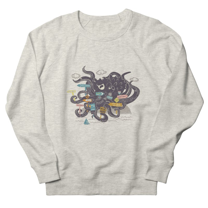 Stray Men's Sweatshirt by micronisus's Artist Shop