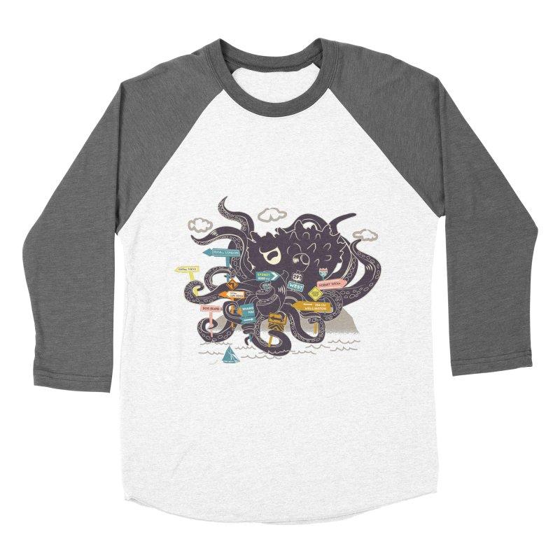 Stray Men's Baseball Triblend Longsleeve T-Shirt by micronisus's Artist Shop