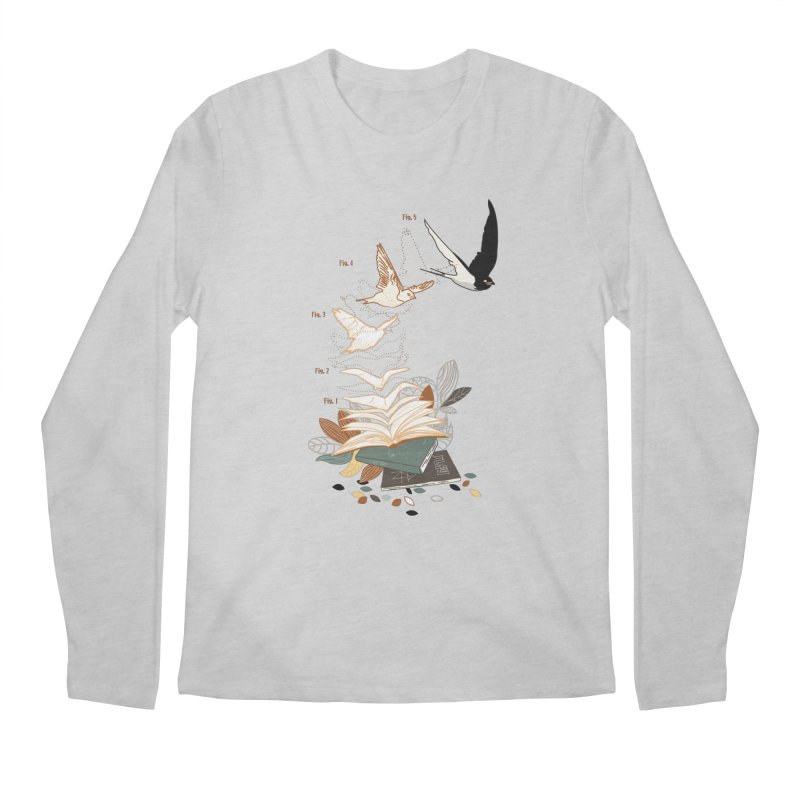 flow Men's Longsleeve T-Shirt by micronisus's Artist Shop