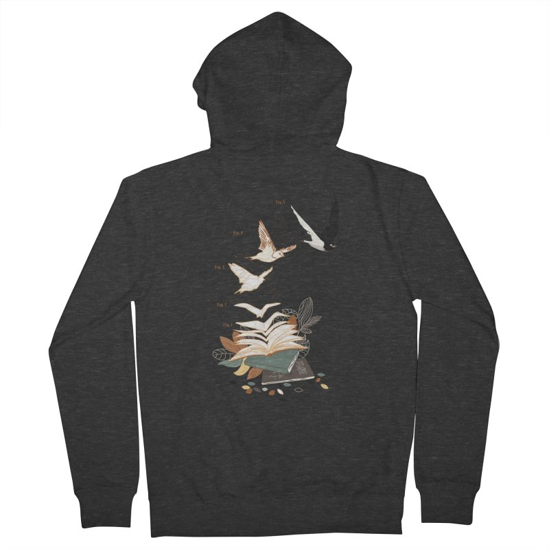 flow Men's French Terry Zip-Up Hoody by micronisus's Artist Shop