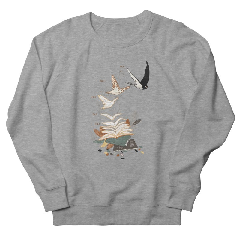 flow Women's French Terry Sweatshirt by micronisus's Artist Shop
