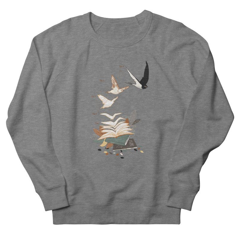 flow Men's French Terry Sweatshirt by micronisus's Artist Shop