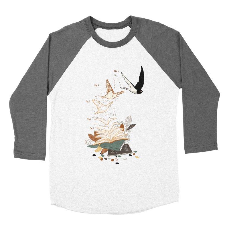flow Men's Baseball Triblend Longsleeve T-Shirt by micronisus's Artist Shop