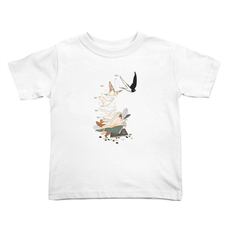 flow Kids Toddler T-Shirt by micronisus's Artist Shop