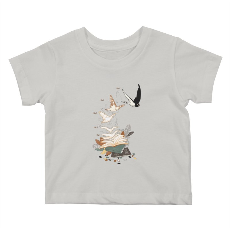 flow Kids Baby T-Shirt by micronisus's Artist Shop