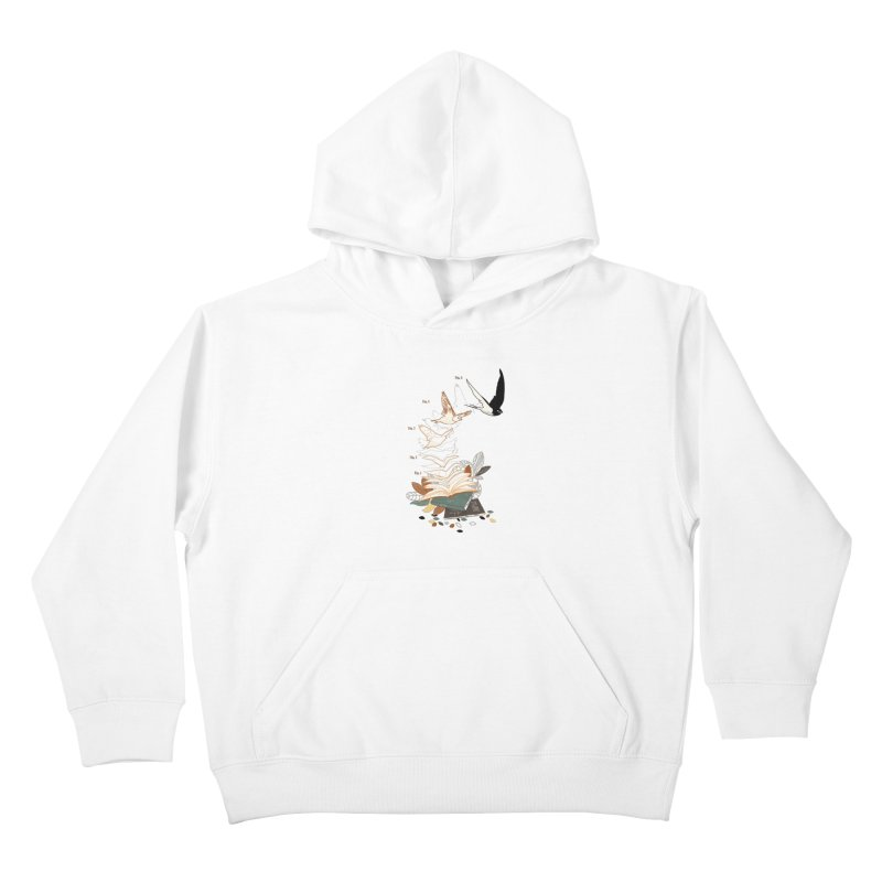 flow Kids Pullover Hoody by micronisus's Artist Shop
