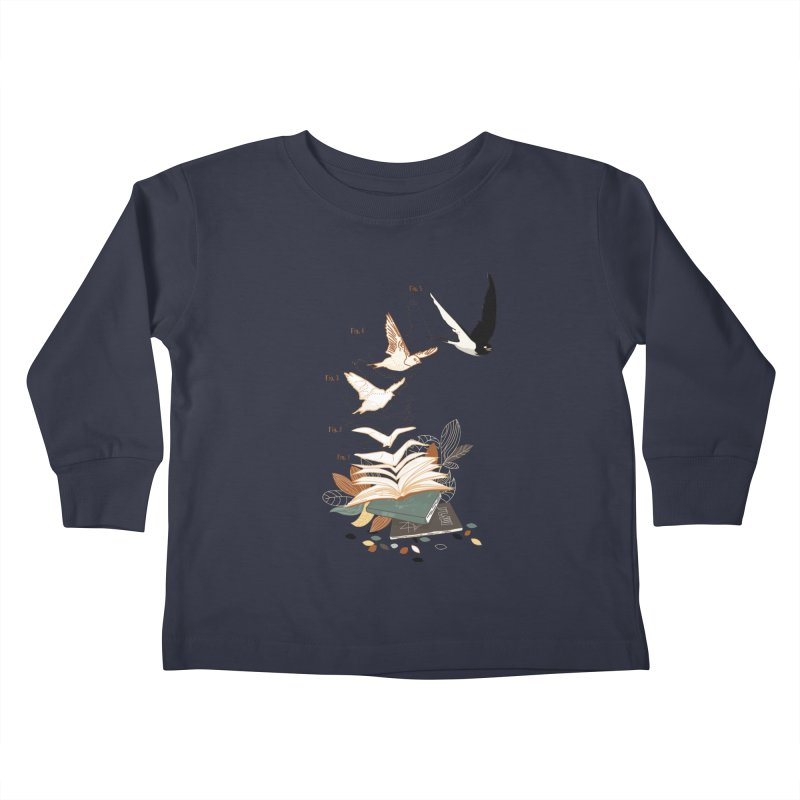 flow Kids Toddler Longsleeve T-Shirt by micronisus's Artist Shop