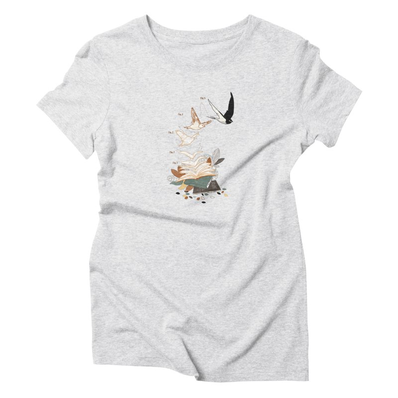 flow Women's T-Shirt by micronisus's Artist Shop