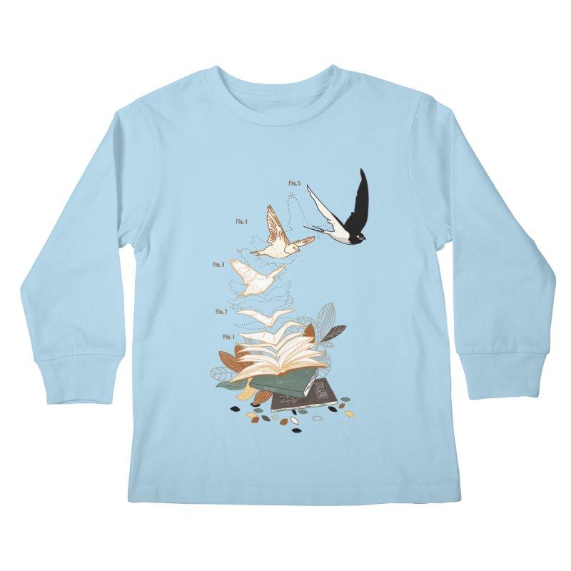 flow Kids Longsleeve T-Shirt by micronisus's Artist Shop