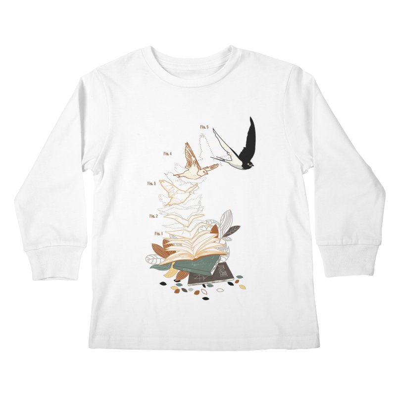 flow Kids Longsleeve T-Shirt by micronisus's Artist Shop