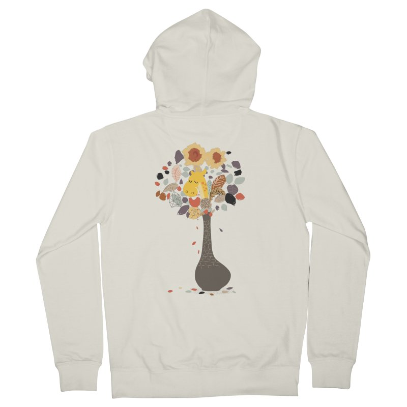 still life No.1 Women's French Terry Zip-Up Hoody by micronisus's Artist Shop