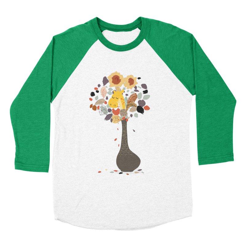 still life No.1 Men's Baseball Triblend Longsleeve T-Shirt by micronisus's Artist Shop
