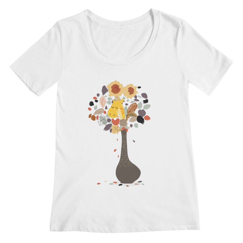 still life No.1 Women's Regular Scoop Neck by micronisus's Artist Shop