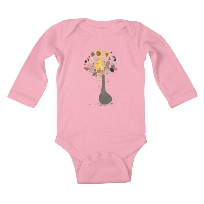 still life No.1 Kids Baby Longsleeve Bodysuit by micronisus's Artist Shop