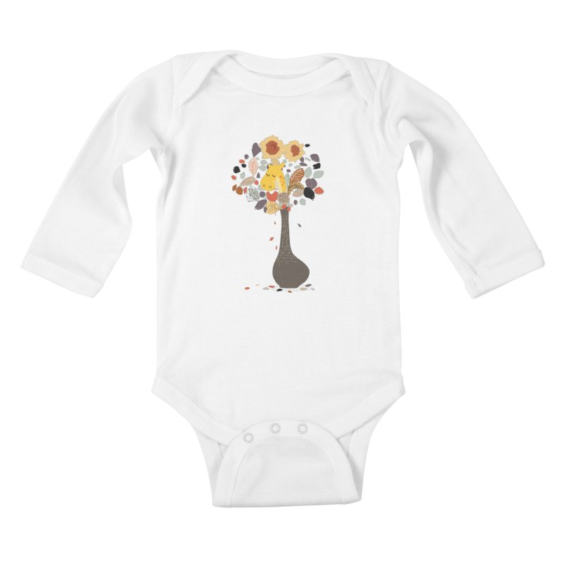 still life No.1 Kids Baby Longsleeve Bodysuit by micronisus's Artist Shop
