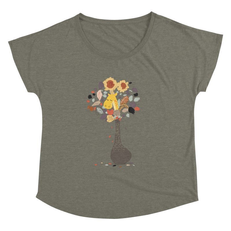 still life No.1 Women's Dolman Scoop Neck by micronisus's Artist Shop