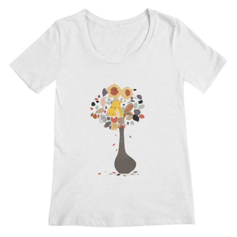 still life No.1 Women's Scoop Neck by micronisus's Artist Shop