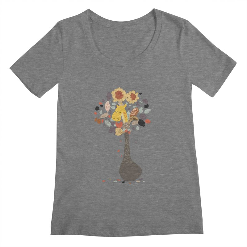 still life No.1 Women's Scoopneck by micronisus's Artist Shop