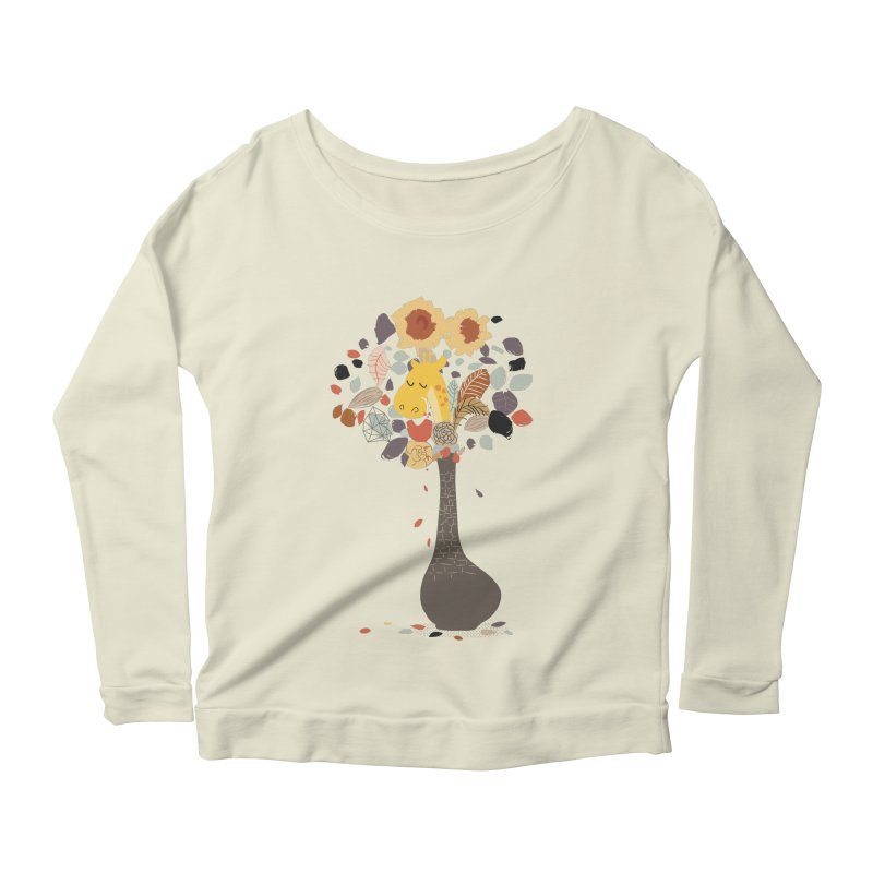still life No.1 Women's Scoop Neck Longsleeve T-Shirt by micronisus's Artist Shop