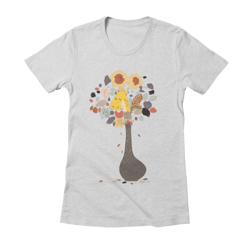 still life No.1 Women's Fitted T-Shirt by micronisus's Artist Shop