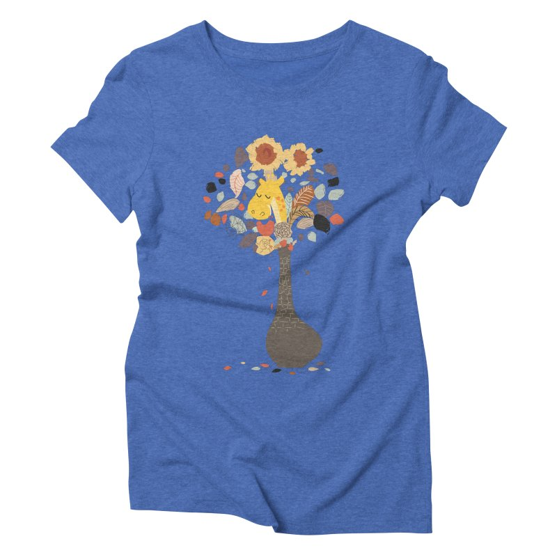 still life No.1 Women's Triblend T-Shirt by micronisus's Artist Shop