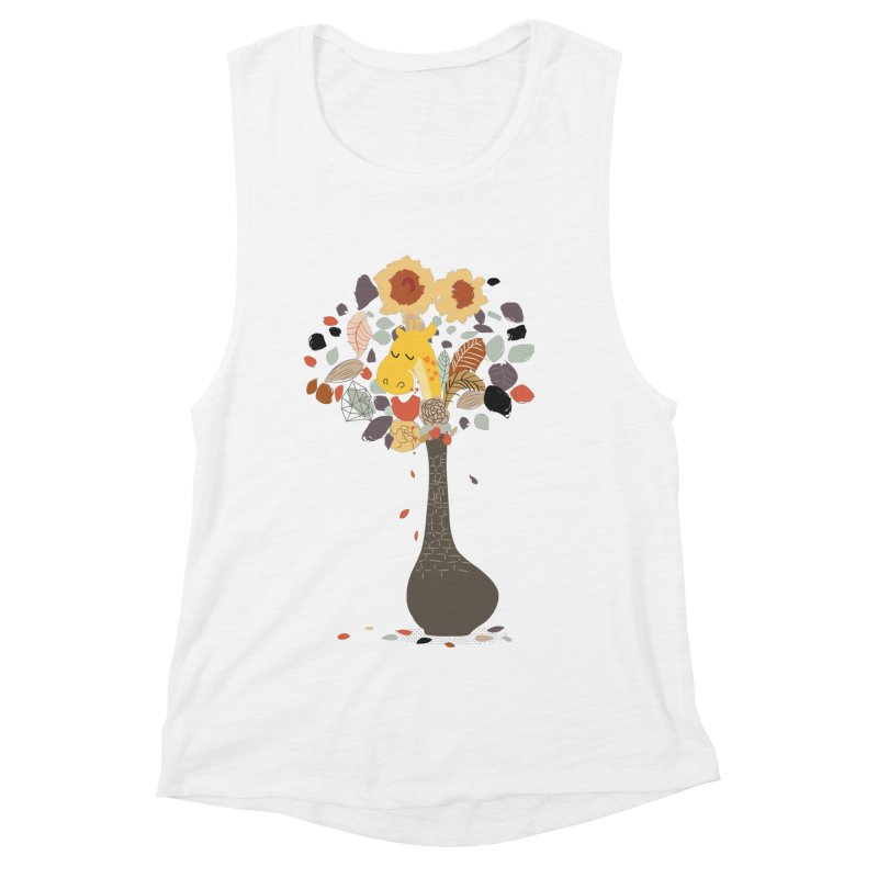 still life No.1 Women's Muscle Tank by micronisus's Artist Shop