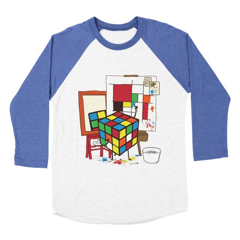 self portrait Women's Baseball Triblend Longsleeve T-Shirt by micronisus's Artist Shop
