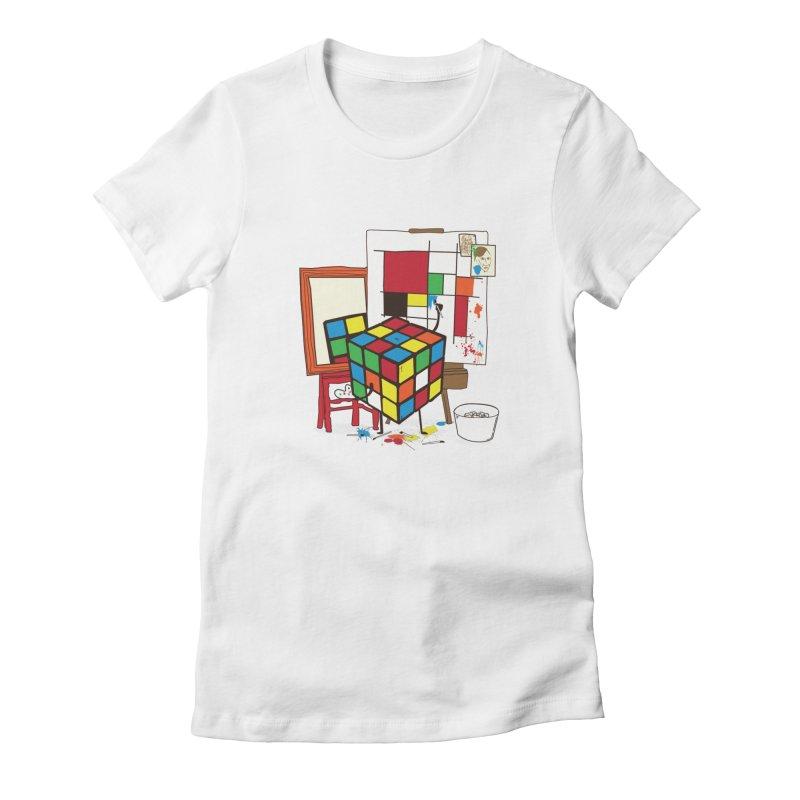 self portrait Women's T-Shirt by micronisus's Artist Shop