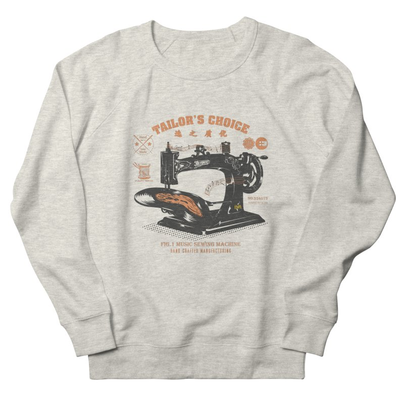 sewing Men's Sweatshirt by micronisus's Artist Shop