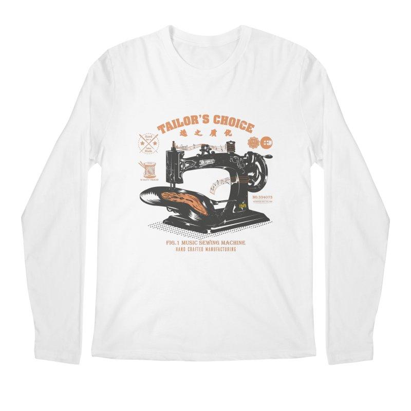 sewing Men's Regular Longsleeve T-Shirt by micronisus's Artist Shop