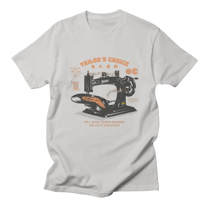 sewing Men's T-Shirt by micronisus's Artist Shop