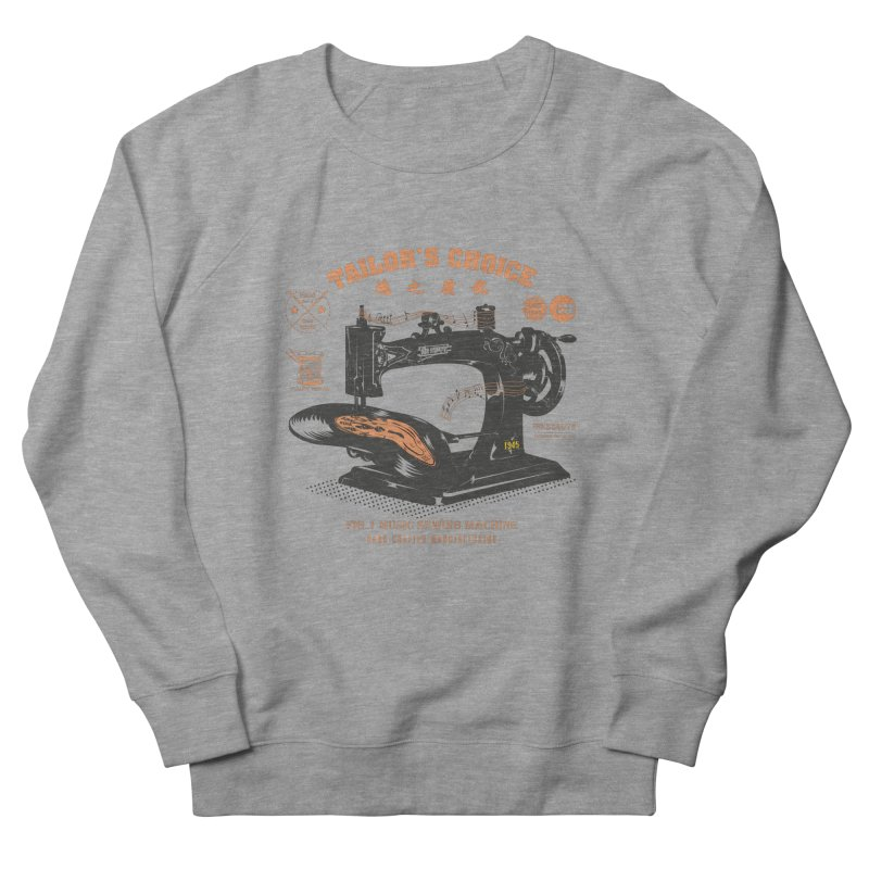 sewing Men's French Terry Sweatshirt by micronisus's Artist Shop