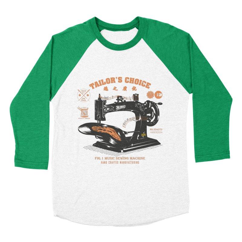 sewing Women's Baseball Triblend Longsleeve T-Shirt by micronisus's Artist Shop