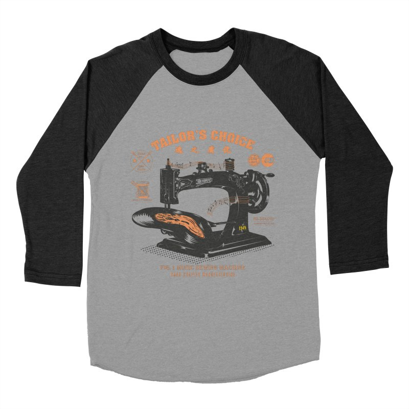 sewing Women's Baseball Triblend T-Shirt by micronisus's Artist Shop